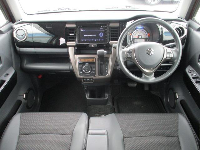 JスタイルIIターボ ユーザー下取車 1オーナー 4WD メーカーOPナビ 12セグ DVD BTオーディオ アラウンドビューモニター ドラレコ ASV クルコン ETC ハーフレザー シートヒーター 純正AW HID(3枚目)