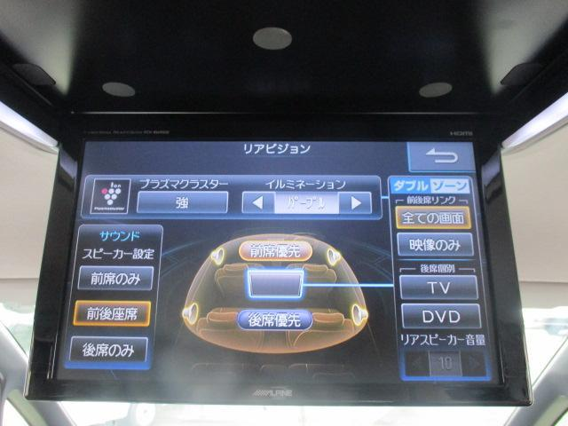 Si アルパインツインモニター 10インチナビ 12セグ DVD ミュージックサーバー BTオーディオ バックカメラ ETC 革巻きステア 両側PSD 革調シートカバー ウォークスルー 純正AW LED(26枚目)