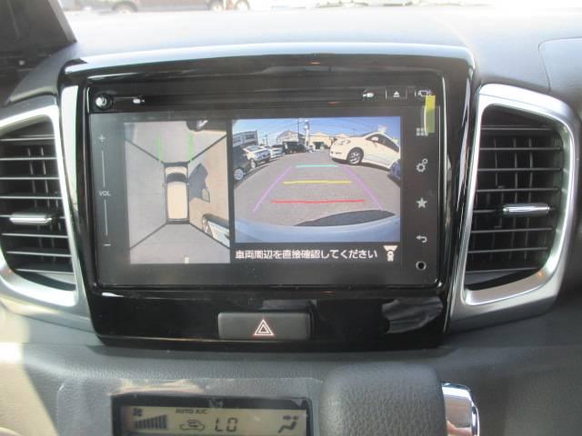 スズキ スペーシアカスタム XS デュアルカメラブレーキサポート 全方位カメラ付SDナビ