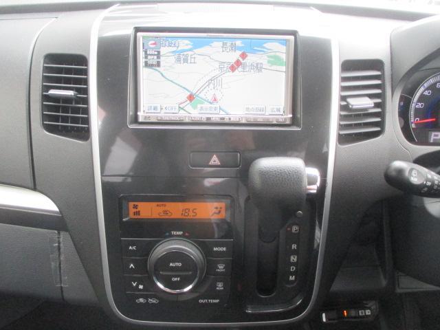 スズキ ワゴンRスティングレー T SDナビ スマートキー ワンセグ HID フォグ