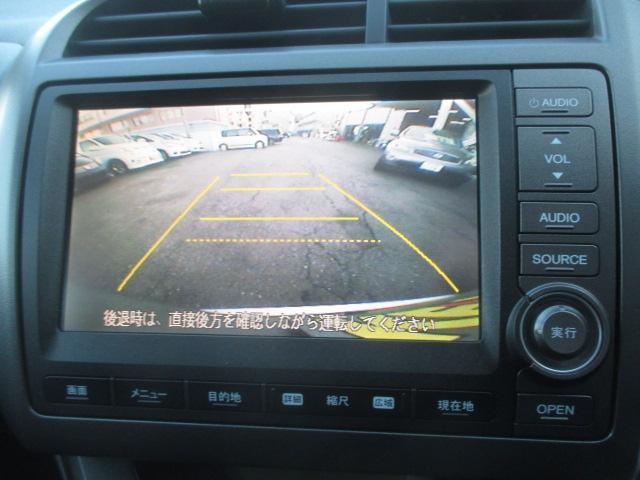 ホンダ ストリーム RSZ メーカーHDDナビ リアカメラ パドルシフト HID