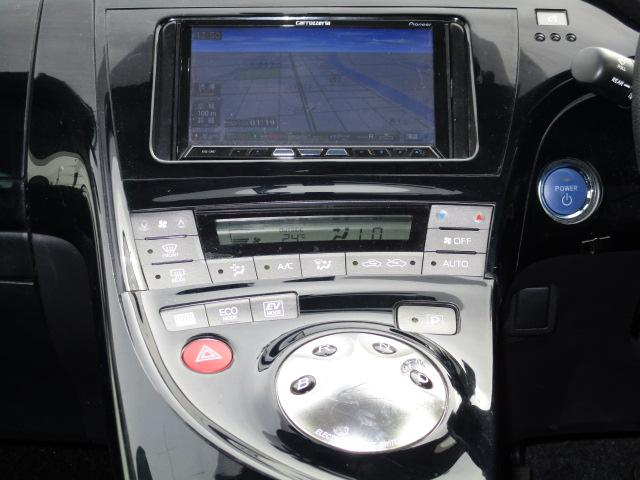 トヨタ プリウス G 後期型 フルセグHDDナビ バックカメラ スマートキー
