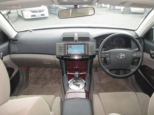 トヨタ マークX 250G Fパッケージ 1オーナー HDDナビ リアカメラ