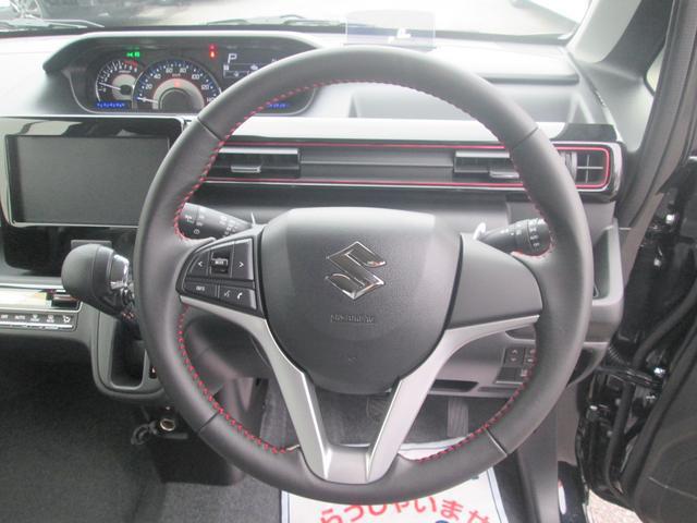スズキ ワゴンRスティングレー ハイブリッドX レーダーブレーキS フルエアロ 純正アルミ