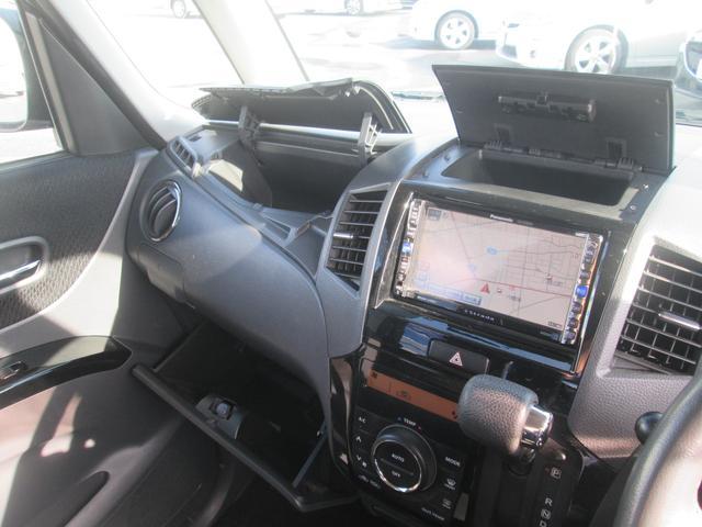 スズキ パレットSW TS ターボ HDDナビ 両側自動ドア フルエアロ 禁煙車