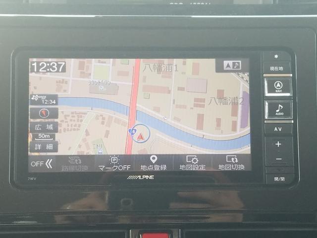 カスタムG-T TRDエアロ 衝突軽減ブレーキ SDナビ フルセグTV BTオーディオ ドライブレコーダー エンジンスターター クルーズコントロール LEDヘッドライト 純正15アルミ(14枚目)