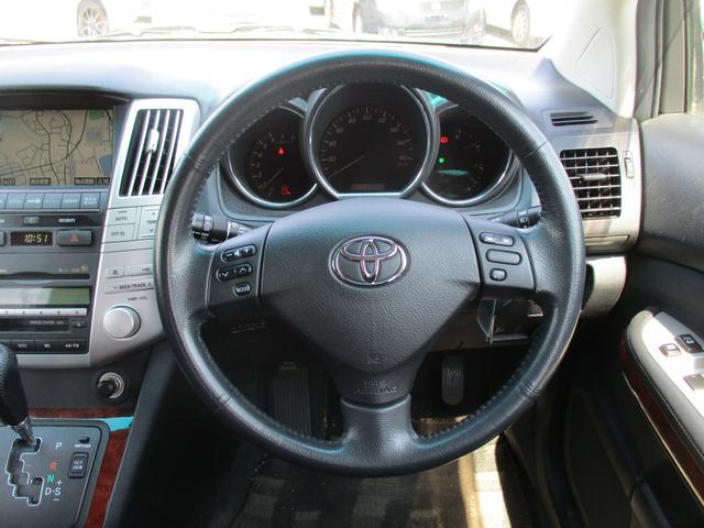 トヨタ ハリアー 240G LパッケージHDDナビETCカメラ電動シ-トHID