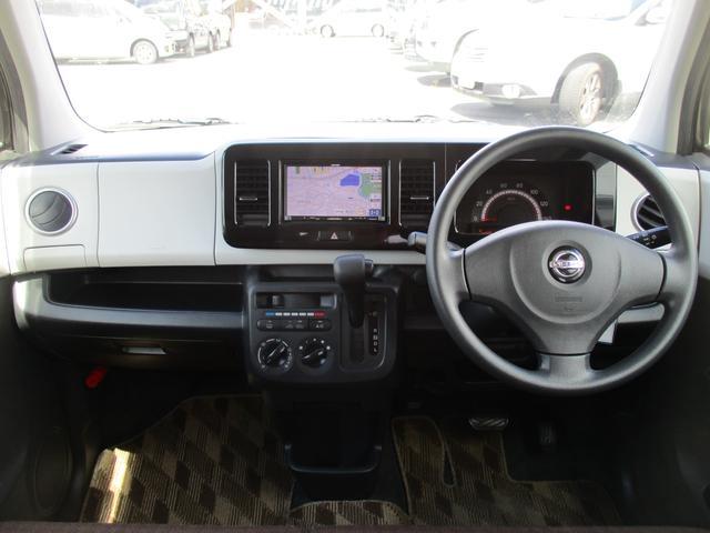 日産 モコ S SDナビCD 地デジ セキュリティ- 電格ミラ- ABS