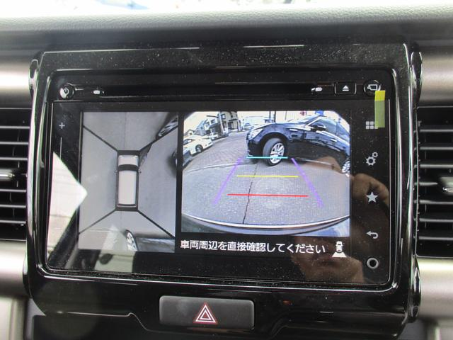 スズキ ハスラー JスタイルIIターボレ-ダ-BK純正ナビDVD全方位カメラ