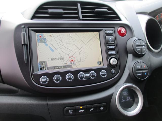 ホンダ フィット RS エアロ HDDナビDVD地デジETC カメラ CD録音