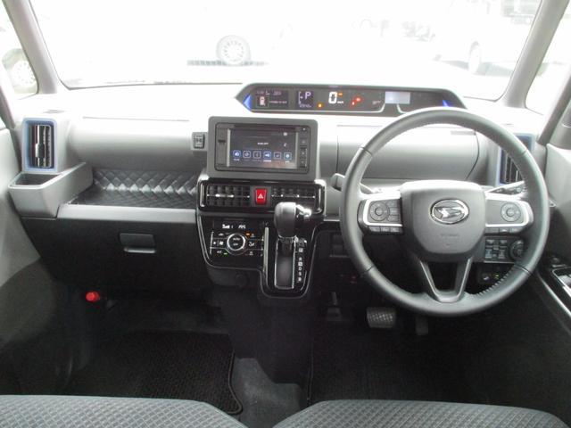 カスタムRS スーパーロングスライドシート・ターボ・ディスプレイオーディオ・パノラマモニター・CD・AUX・衝突軽減ブレーキ・クルーズコントロール・コーナーセンサー・ハーフレザーシート・両側電動スライドドア・ETC(17枚目)