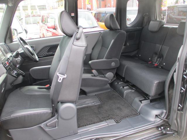 カスタムRS スーパーロングスライドシート・ターボ・ディスプレイオーディオ・パノラマモニター・CD・AUX・衝突軽減ブレーキ・クルーズコントロール・コーナーセンサー・ハーフレザーシート・両側電動スライドドア・ETC(30枚目)