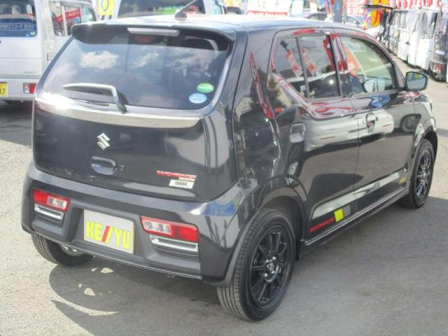 スズキ アルトワークス 5MT 4WD 革巻ハンドル 純正15アルミ フルエアロ