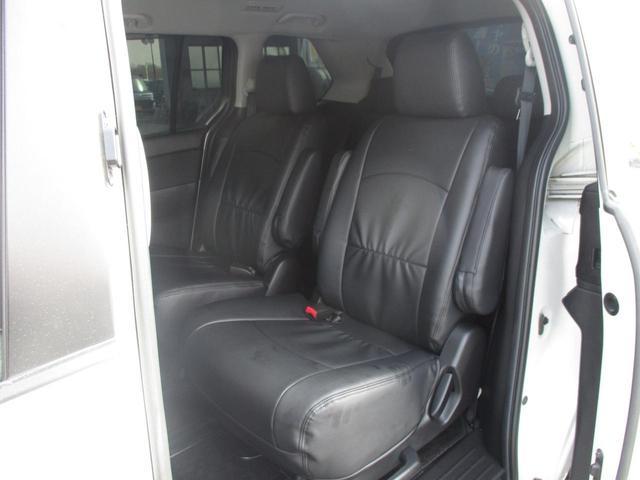 マツダ MPV 23S 両側自動スライド HDDナビ 革調シートカバー