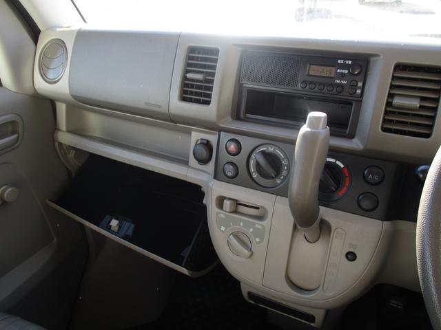 スズキ エブリイ PA ラジオ ヘッドライトレベライザー 両側手動スライドドア