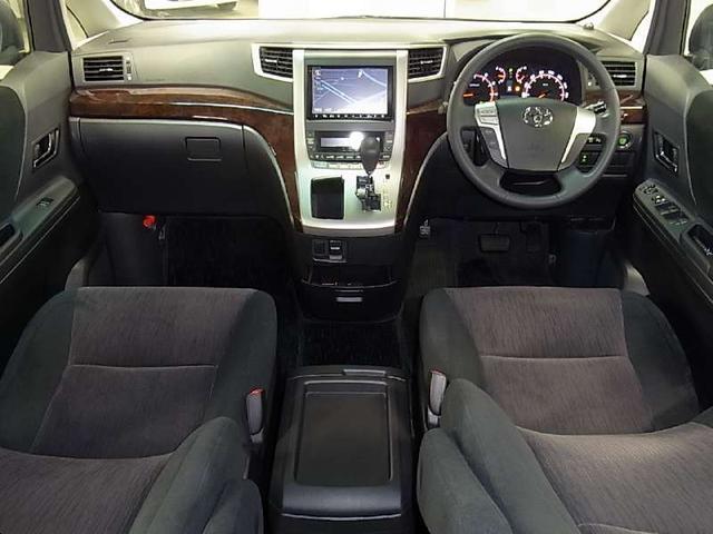 トヨタ ヴェルファイア 2.4Z フルエアロ 後席フリップダウンモニター HDDナビ