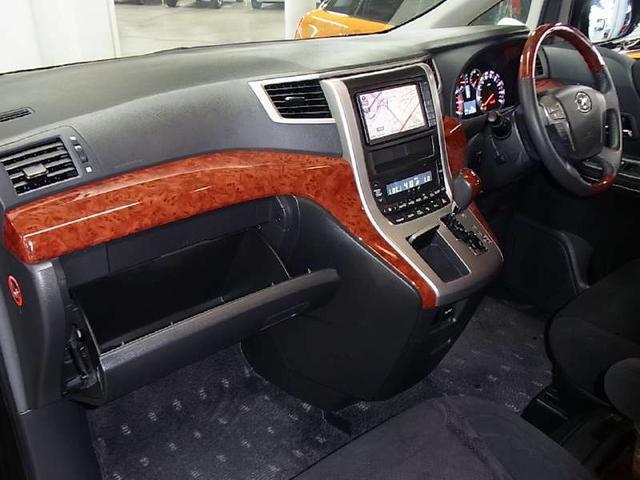 トヨタ ヴェルファイア 2.4Z プラチナセレクションII 禁煙車 純正HDDナビ