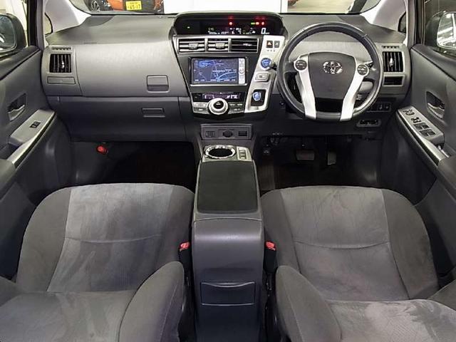 トヨタ プリウスアルファ Gツーリングセレクション ワンオーナー LEDヘッドライト