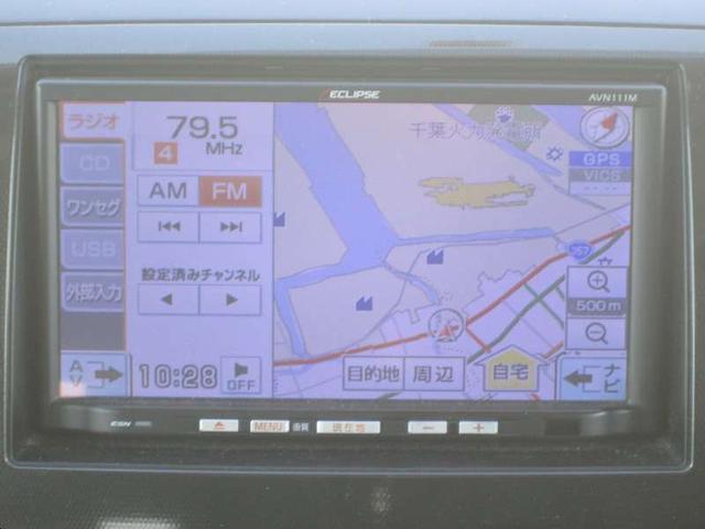 スズキ ワゴンRスティングレー X CVT 1セグSDナビ HIDライト フルエアロ 禁煙車