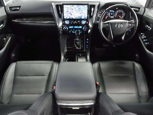 2.5Z Gエディション 後期型 1オーナー 11型ナビ 12.8型後席モニタ 黒革電動シート ツインサンルーフ 両側自動ドア セーフティセンス ドラレコ 3眼LEDライト ETC パワーバックドア シートヒーター Cセンサー(3枚目)