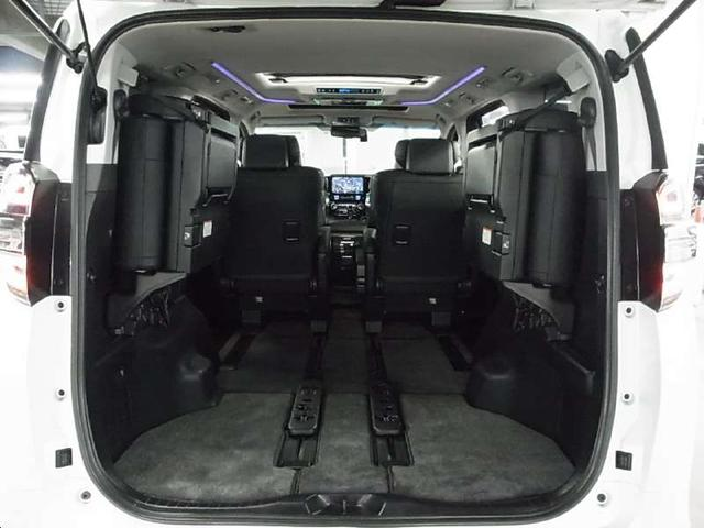 2.5Z Gエディション 後期型 1オーナー 11型ナビ 12.8型後席モニタ 黒革電動シート ツインサンルーフ 両側自動ドア セーフティセンス ドラレコ 3眼LEDライト ETC パワーバックドア シートヒーター Cセンサー(15枚目)