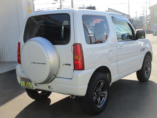 ランドベンチャー 4WD ターボ 特別仕様車 ストラーダSDナビ フルセグ BluetoothAudio ミュージックサーバー バックカメラ ETC シートヒーター 革巻ステア キーレスエントリー 純正16インチアルミ(4枚目)