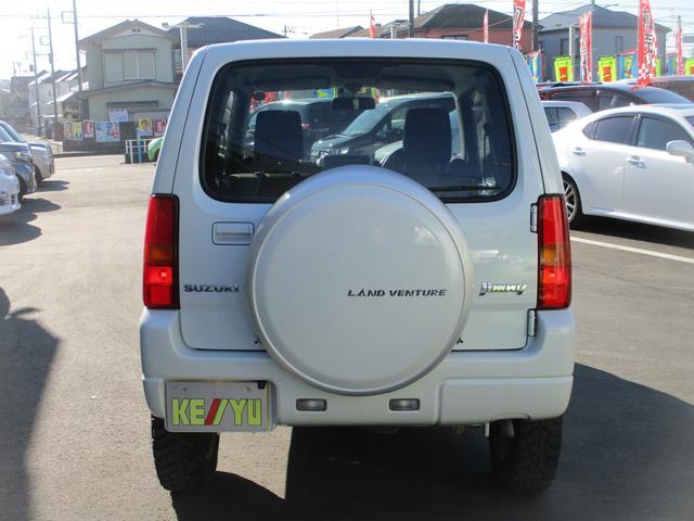 ランドベンチャー 4WD ターボ 特別仕様車 ストラーダSDナビ フルセグ BluetoothAudio ミュージックサーバー バックカメラ ETC シートヒーター 革巻ステア キーレスエントリー 純正16インチアルミ(5枚目)