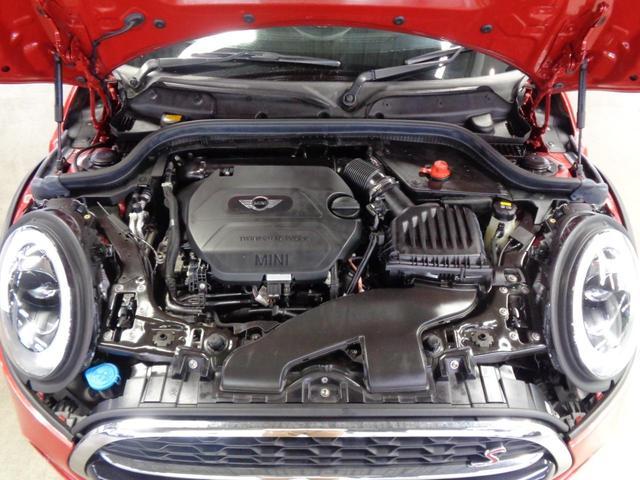 クーパーSD 5ドア 衝突軽減ブレーキ ACC 8.8インチメーカーナビ Bluetoothオーディオ ミラー一体型ETC アイドリングストップ チェックシートカバー スマートキー パドルシフト 純正17インチAW(21枚目)