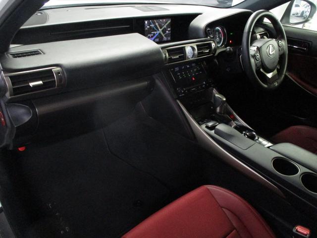 IS300h Fスポーツ 専用ファブリック・L texスポーツシート シートヒーター メーカーSDナビ Blu-ray バックカメラ ETC2.0 クルーズコントロール パドルシフト スマートキー LEDライト 純正18アルミ(22枚目)
