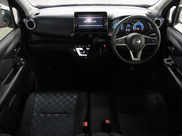 ハイウェイスター Gターボプロパイロットエディション アラウンドビューモニター 純正9インチナビ ドラレコ Bluetoothオーディオ ETC2.0 インテリキー 衝突軽減ブレーキ レーダークルーズ コーナーセンサー LEDヘッドライト 純正15アルミ(3枚目)