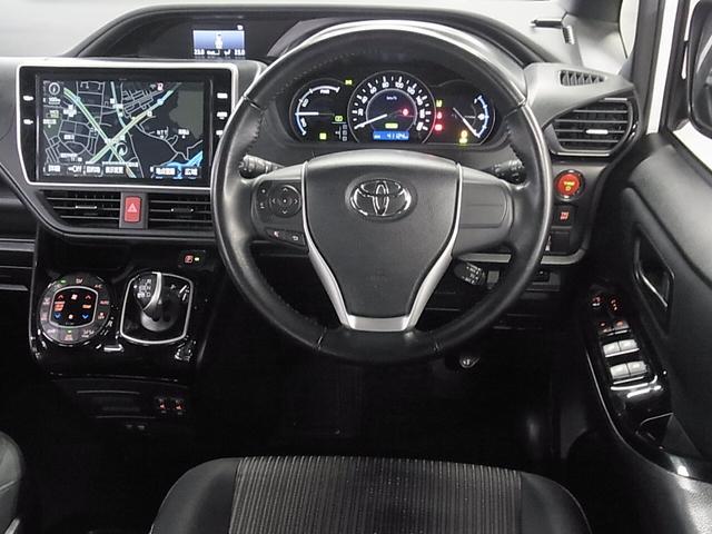 ハイブリッドSi 後期 TRDエアロ フリップダウンモニター シートヒーター 10インチ純正SDナビ Bluetooth バックカメラ フルセグ ETC 電動スライドドア TRD17インチアルミ トヨタセーフティセンス(10枚目)