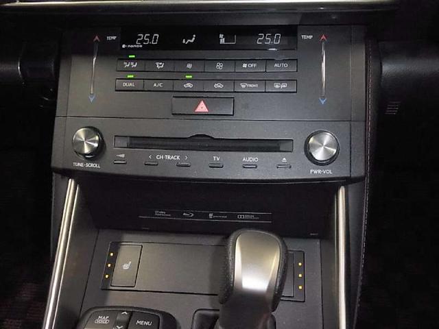 IS200t Fスポーツ ワンオーナー ターボ 専用ファブリック/Ltexスポーツシート ヒーター付電動シート メーカーSDナビ Blu-ray バックカメラ ETC2.0 クルコン ソナー 専用18アルミ HIDヘッドライト(17枚目)