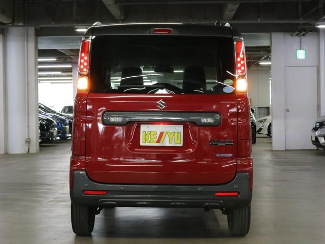 ハイブリッドXZ ターボ デュアルセンサーブレーキサポート シートヒーター 両側電動スライド クルコン パーキングセンサー アイドリングストップ 後席テーブル パドルシフト LEDヘッドライト ルーフレール スペアキー 禁煙車(6枚目)