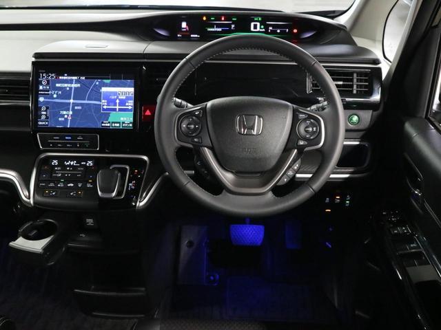 スパーダハイブリッド G・EX ホンダセンシング 禁煙1オーナー 衝突軽減ブレーキ 純正10型ナビ 12セグ フリップダウンモニター ハーフレザーシート シートヒーター 両側電動ドア バックカメラ ETC LEDライト レーダークルーズ 車線逸脱防止(22枚目)