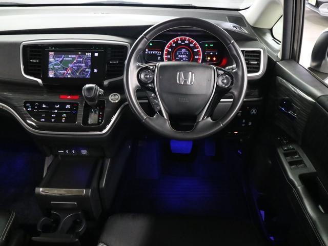 アブソルート 衝突軽減ブレーキ フリップダウンモニター 純正ナビ バックカメラ Bluetooth フルセグ ハーフレザー オットマン 電動スライドドア パドルシフト ETC アイドリングSTOP クルコン LED(11枚目)