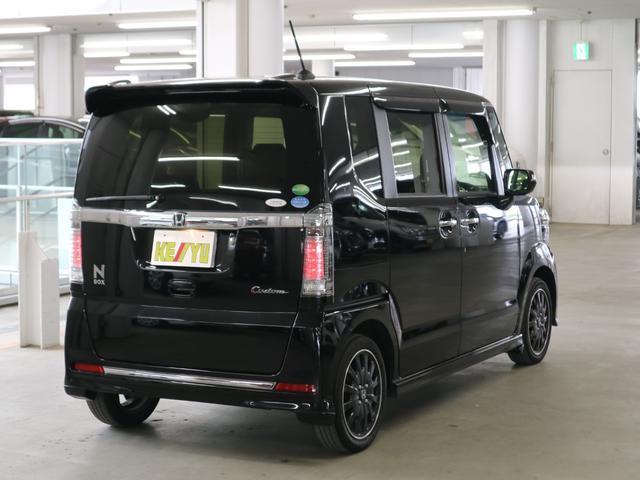 G ターボSSブラックスタイルパッケージ 特別仕様車 シートヒーター ドラレコ 純正ナビ フルセグ Bluetoothオーディオ バックカメラ ETC 両側パワースライドドア クルコン パドルシフト HIDヘッドライト フォグ 純正15アルミ(3枚目)
