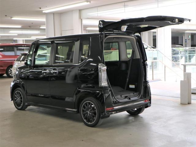 G ターボSSブラックスタイルパッケージ 特別仕様車 シートヒーター ドラレコ 純正ナビ フルセグ Bluetoothオーディオ バックカメラ ETC 両側パワースライドドア クルコン パドルシフト HIDヘッドライト フォグ 純正15アルミ(27枚目)