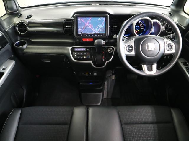 G・ターボLパッケージ ドラレコ 両側電動スライドドア 純正SDナビ バックカメラ Bluetoothオーディオ 地デジTV ETC クルーズコントロール パドルシフト HIDヘッドライト フォグ 本革巻ステアリング 禁煙車(4枚目)