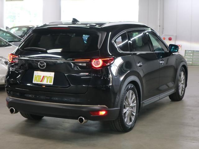 XD Lパッケージ 4WD ディーゼル BOSEサウンド 360度モニター ステア・前後席ヒーター HUD RSRダウンサス マツダコネクトナビ フルセグ Bluetooth ETC パワーバックドア 電動白レザー 禁煙(2枚目)