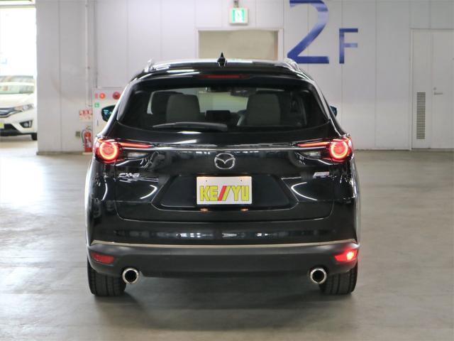 XD Lパッケージ 4WD ディーゼル BOSEサウンド 360度モニター ステア・前後席ヒーター HUD RSRダウンサス マツダコネクトナビ フルセグ Bluetooth ETC パワーバックドア 電動白レザー 禁煙(6枚目)