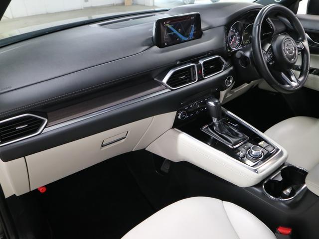 XD Lパッケージ 4WD ディーゼル BOSEサウンド 360度モニター ステア・前後席ヒーター HUD RSRダウンサス マツダコネクトナビ フルセグ Bluetooth ETC パワーバックドア 電動白レザー 禁煙(22枚目)