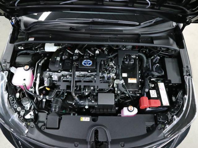 ハイブリッド ダブルバイビー TRDフルエアロ メーカー9インチナビ BTオーディオ バックカメラ ETC2.0 シートヒーター トヨタセーフティセンス クリアランスソナー BSM ドラレコ ナノイー LEDライト 純正17アルミ(20枚目)