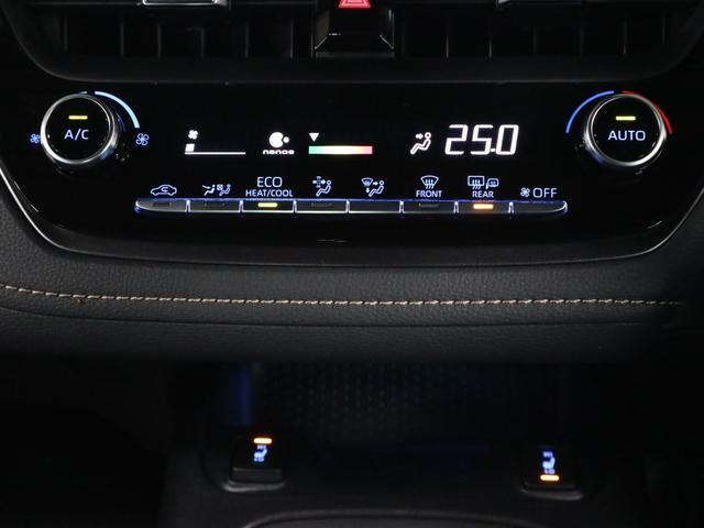 ハイブリッド ダブルバイビー TRDフルエアロ メーカー9インチナビ BTオーディオ バックカメラ ETC2.0 シートヒーター トヨタセーフティセンス クリアランスソナー BSM ドラレコ ナノイー LEDライト 純正17アルミ(42枚目)