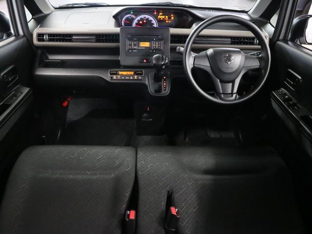 ハイブリッドFX 衝突被害軽減ブレーキ 後方誤発進抑制 リヤパーキングセンサー シートヒーター AUX接続 CD再生 車線逸脱警報 アイドリングストップ スマートキー プッシュスタート スペアキー有 記録簿・取扱説明書(4枚目)