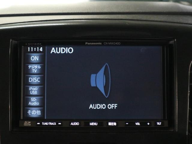 T ターボ パドルシフト アイドリングストップ キーレスプッシュスタート 純正15インチアルミ ストラーダSDナビ CN-MW240D 12セグTV SD録音 CD&DVD ETC フロントフォグランプ(27枚目)