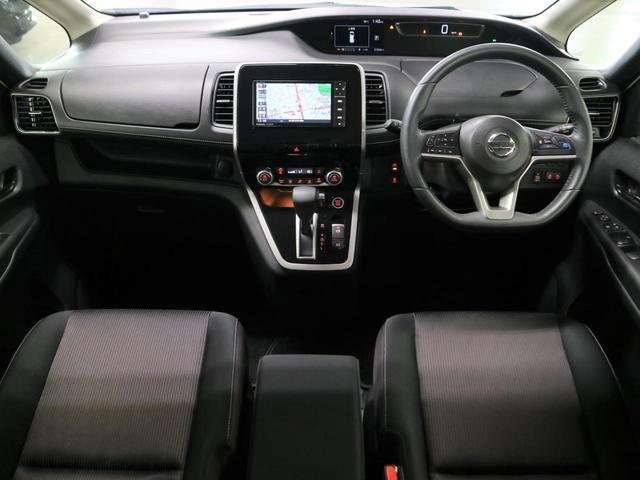 ハイウェイスター プロパイロットエディション ドライブレコーダー ストラーダナビ バックカメラ Bluetooth フルセグTV ETC ハンズフリーオートスライドドア ソナー 衝突軽減ブレーキ レーダークルーズコントロール LEDライト 禁煙車(4枚目)