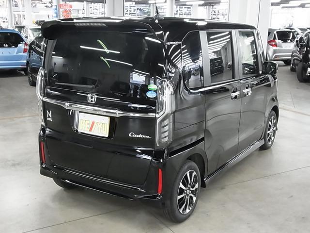 ホンダ N BOXカスタム G・Lホンダセンシング 自動ブレーキ パワースライドドア