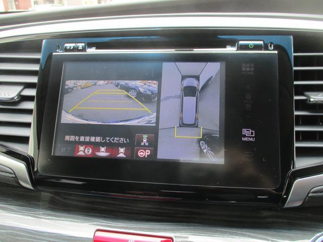 アブソルート・EXホンダセンシング 衝突軽減ブレーキ・メーカーSDナビ・全方位カメラ・フリップダウンモニター・禁煙・1オーナー・RAYS19AW・ハーフレザーパワーシート・BT・TV・DVD・ETC・両電動スライド・オットマン・クルコン(28枚目)