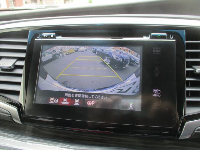 アブソルート・EXホンダセンシング 衝突軽減ブレーキ・メーカーSDナビ・全方位カメラ・フリップダウンモニター・禁煙・1オーナー・RAYS19AW・ハーフレザーパワーシート・BT・TV・DVD・ETC・両電動スライド・オットマン・クルコン(29枚目)