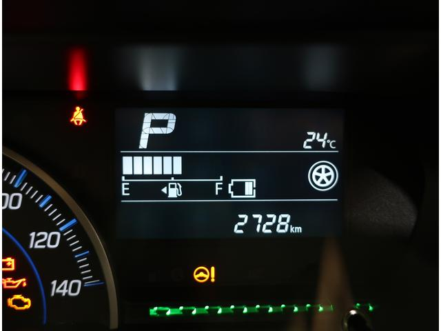 走行距離は2728kmです